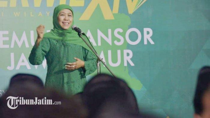 Gubernur Khofifah Siap Sinergi dengan GP Ansor, Jadikan Jatim Gravitasi Islamic Finance Lewat IISC