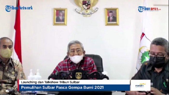 Gubernur Sulawesi Barat Ungkap Kondisi Terkini di Wilayahnya Pascagempa Bumi 2021