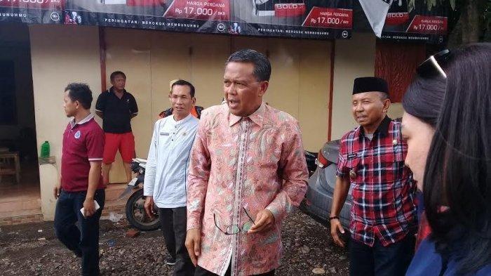 Gubernur Sulawesi Selatan Prof Nurdin Abdullah kunjungi Kabupaten Jeneponto, Jumat (25/1/2019). TRIBUN TIMUR/IKBAL NURKARIM