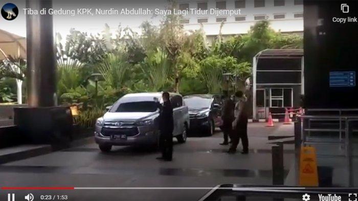 Tiba di Gedung KPK, Nurdin Abdullah: 'Saya Lagi Tidur, Dijemput'