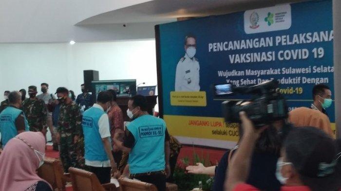 BREAKING NEWS: Gubernur Sulsel Nurdin Abdullah Batal Disuntik Vaksin Covid-19