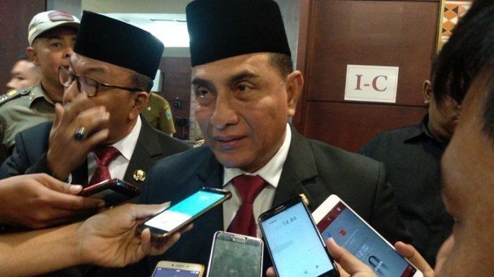Gubernur Sumut, Edy Rahmayadi Lakukan Tes Corona, Sempat Hadiri Rapat bersama Menhub Budi Karya