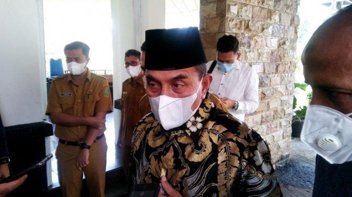 Gubernur Sumut Berharap Tanggal 26 Juli Covid-19 Harus Turun, 'Kalau Tak Turun Bahaya Kita'