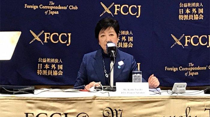Gubernur Tokyo Jepang Minta Maaf Tak Bisa Diskusi dengan Para Atlet Olimpiade 2021