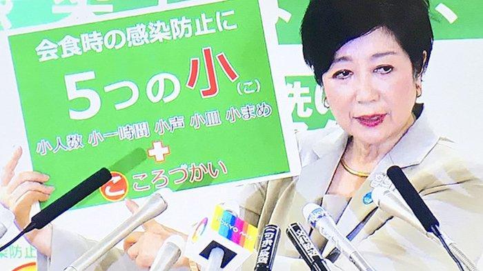 Gubernur Tokyo Jepang Perkenalkan Itsutsunoko, 5 Pedoman Antisipasi Corona