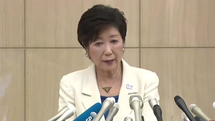 Gubernur Tokyo, Yuriko Koike.