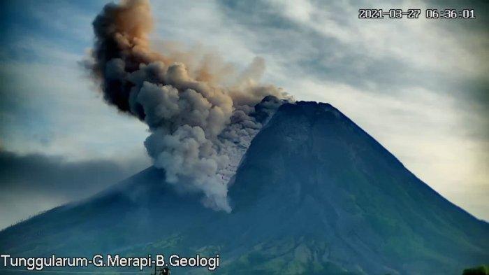 3 Kali Berturut-turut Gunung Merapi Luncurkan Awan Panas, Durasi Maksimal 130 Detik
