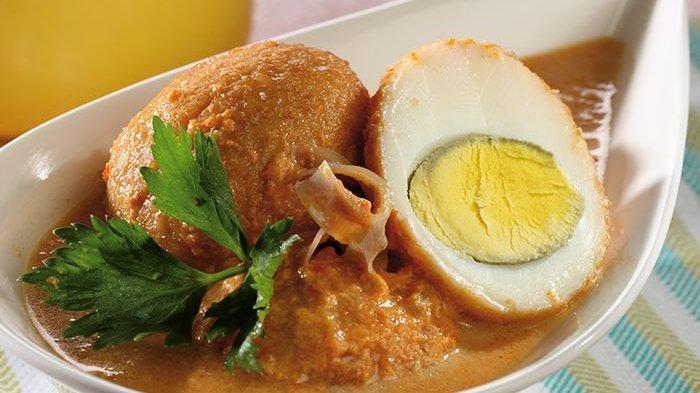 gulai telur taoco