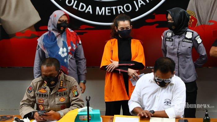 Polisi Sebut Reza Artamevia Sudah Empat Bulan Gunakan Sabu