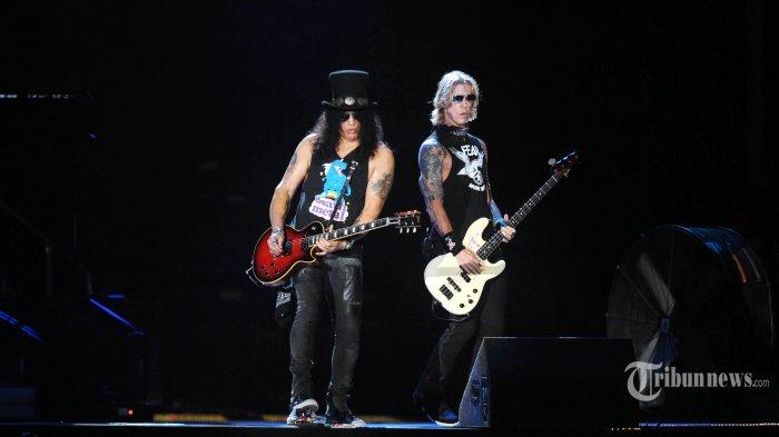 Guns N Roses Hentak Panggung Stadion GBK