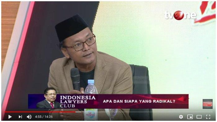 Guntur Romli dalam Indonesia Lawyers Club TVOne: Apa dan Siapa yang Radikal? Selasa (5/11/2019)