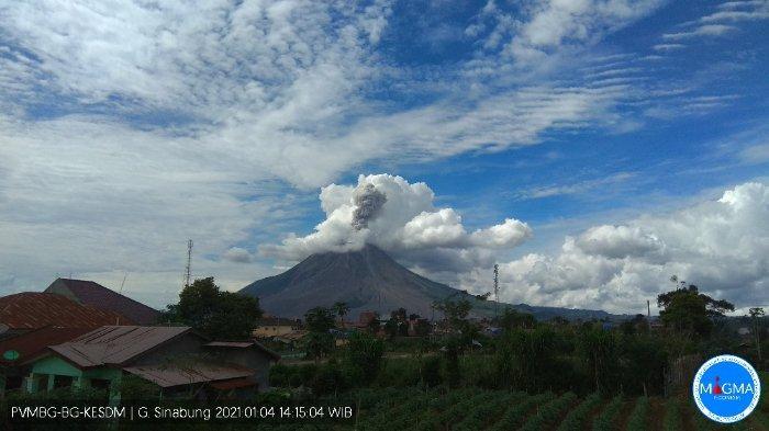 Erupsi Gunung Sinabung, AirNav: Tidak Ada Dampak Signifikan Terhadap Operasional Penerbangan