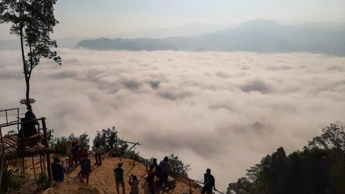 Cerita di Balik Penemuan Wisata Negeri di Atas Awan di Lebak hingga Dikunjungi Ribuan Wisatawan