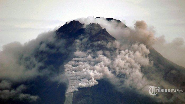 UPDATE Gunung Merapi Meletus: Kembali Keluarkan Awan Panas Guguran, Jarak Luncur 2.000 Meter