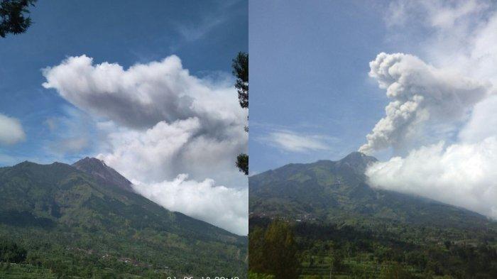 Juru Bicara BNPB: Video Erupsi Gunung Merapi Adalah Hoax