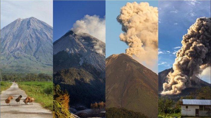 Mengenali 4 Tahapan Tanda Dan Status Level Gunung Sebelum Meletus Tribunnews Com Mobile