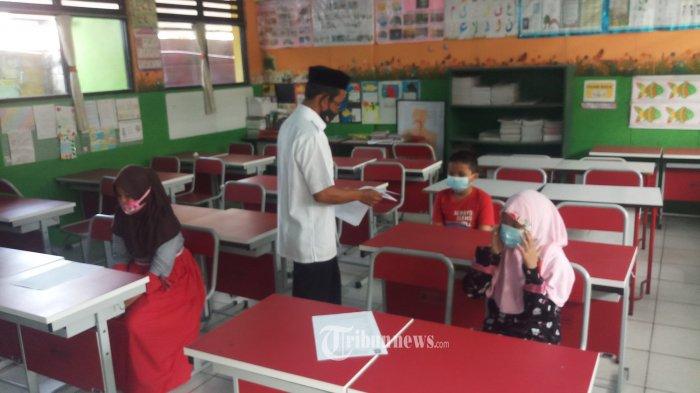 Antusias Jalankan PTM Terbatas, Daerah Perketat Protokol Kesehatan Sekolah