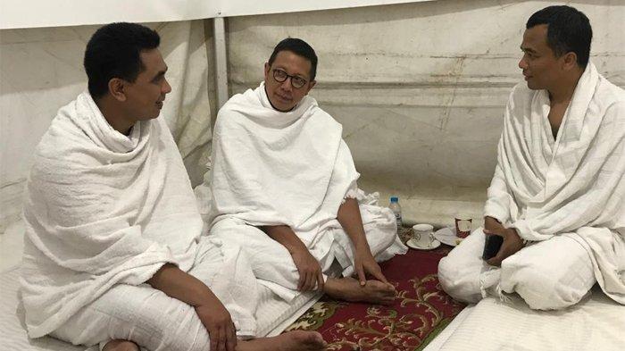 Temui Amirul Hajj di Tenda Arafah, Gus Yasin: Keluarga Ikhlas Jenazah Mbah Moen Dimakamkan di Ma'la