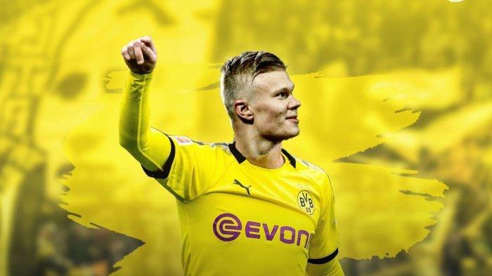 Erling Haaland Hanya Butuh 59 Menit untuk Memenangkan Pemain Terbaik di Liga Jerman Bulan Januari