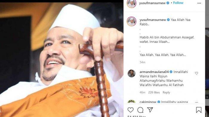 BREAKING NEWS: Habib Ali bin Abdurrahman Assegaf Meninggal Dunia