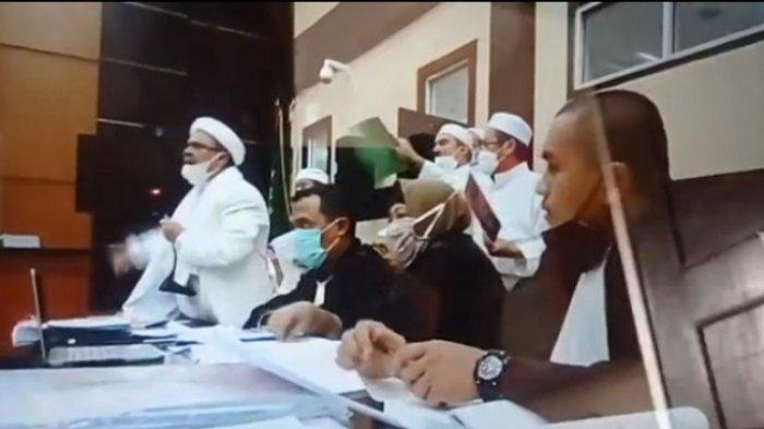 Rizieq Shihab Minta Penangguhan Penahanan Jelang Hari Raya Idul Fitri
