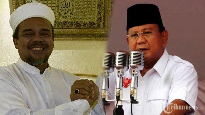 Pemulangan Rizieq Shihab Jadi Syarat Rekonsiliasi dari Prabowo, TKN Curiga Ada Kesepakatan