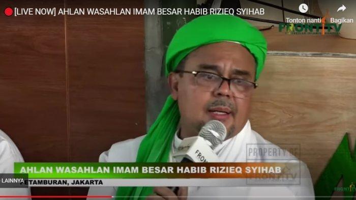 Kata PA 212 Rizieq Shihab Lakukan General Check Up di RS Ummi: Beliau Tolak Dibesuk