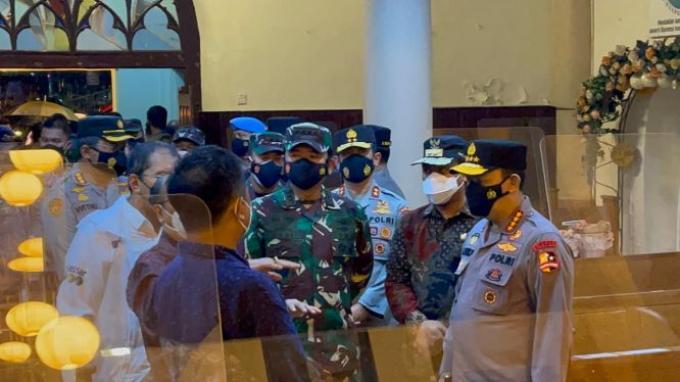 Panglima TNI Dukung Polri Tindak Seluruh Aktor Pengeboman di Katedral Makassar