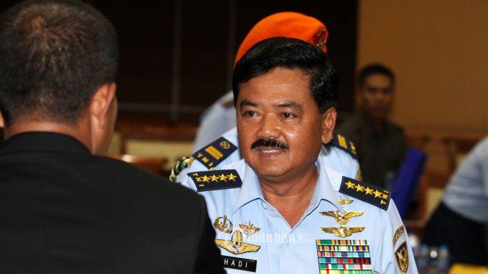 Gatot Beberkan Alasan Jokowi Memilih Hadi Tjahjanto Sebagai Panglima TNI