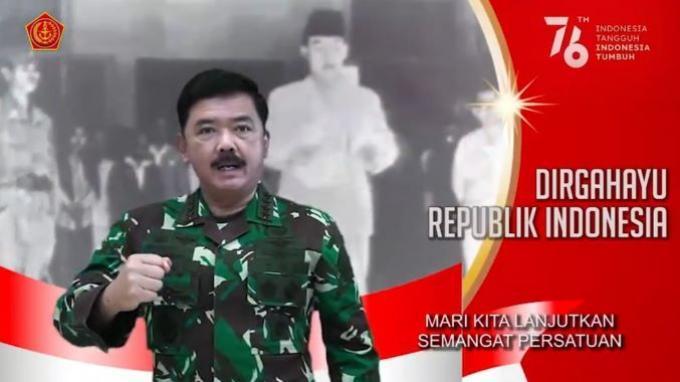 Panglima TNI: Mari Lanjutkan Semangat Pahlawan agar Dapat Mengalahkan Pandemi Covid-19