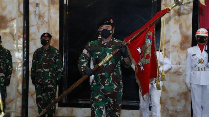 Panglima TNI Pimpin Sertijab Pangkohanudnas Marsda TNI Novyan Samyoga