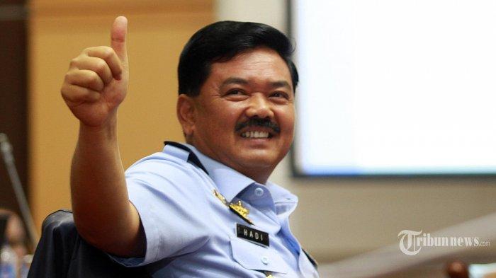 Di Balik Kumis Tebal Calon Panglima TNI Hadi Tjahjanto