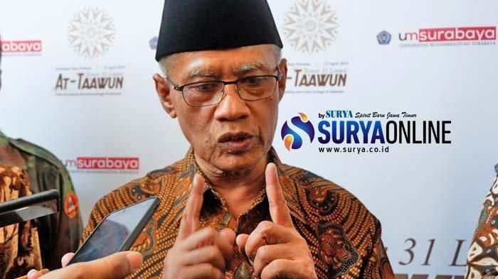 Ketua Umum Pengurus Pusat Muhammadiyah KH Haedar Nashir.
