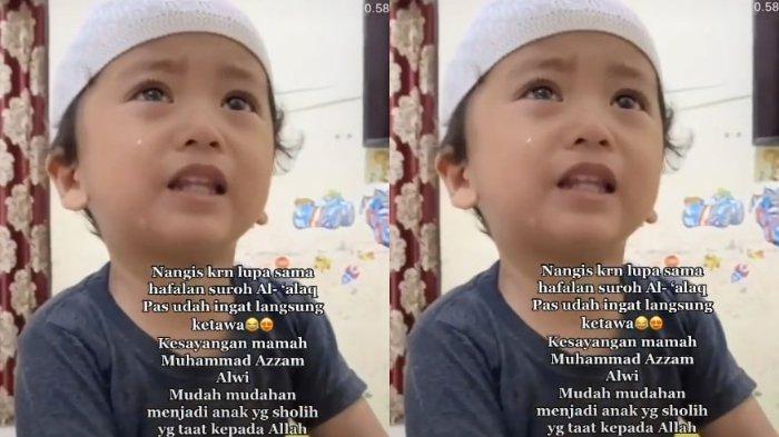 Tips Anak Hafal Alquran, Ibu Azzam, Bocah yang Viral, Ungkap Tak Pernah Perdengarkan Suara TV