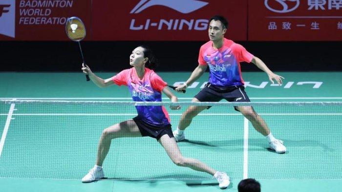 Hafiz Faizal/Gloria Emanuelle Widjaja Main Monoton Makanya Terhenti di Semifinal Hong Kong Open 2019