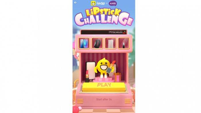 Hago Luncurkan Game 'Lipstick Challenge'