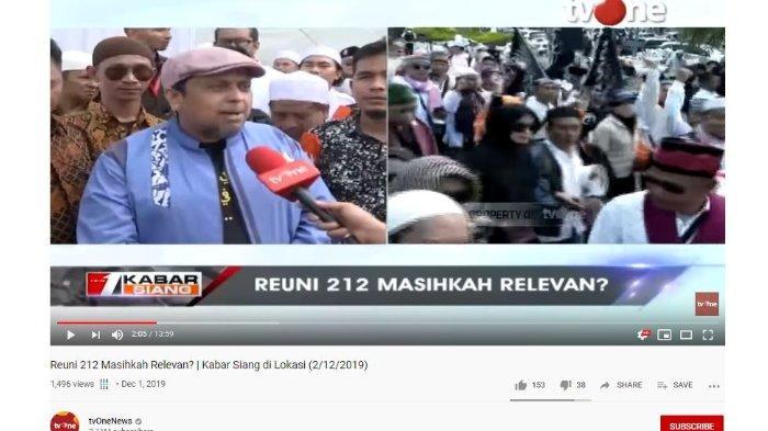 Soal Prabowo Absen dan Sudah Gabung Kabinet Jokowi, Haikal Hassan Akui Reuni 212 Bermuatan Politik