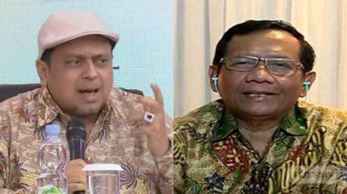 Ketua II Presidium Alumni 212, Haikal Hassan menanggapi pernyataan Menteri Politik, Hukum, dan Keamanan, Mahfud MD soal protes pada wartawan. Di acara Indonesia Lawyers Club pada Selasa (17/12/2019)