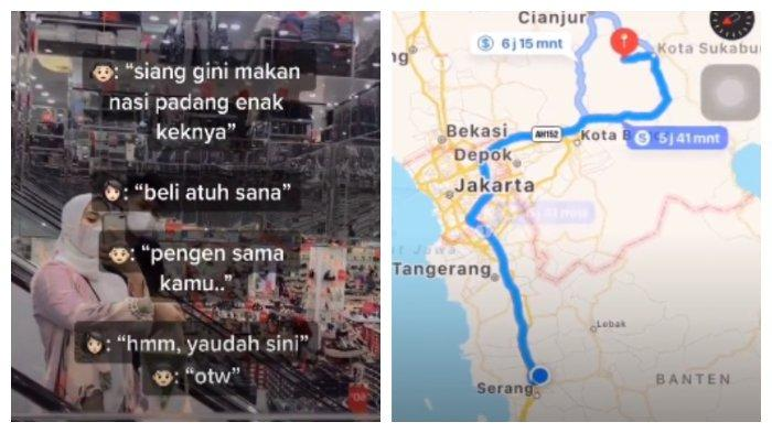Beralasan Ingin Makan Nasi Padang Bersama Kekasih, Seorang Pria Nekat Tempuh Jarak 200 Kilometer