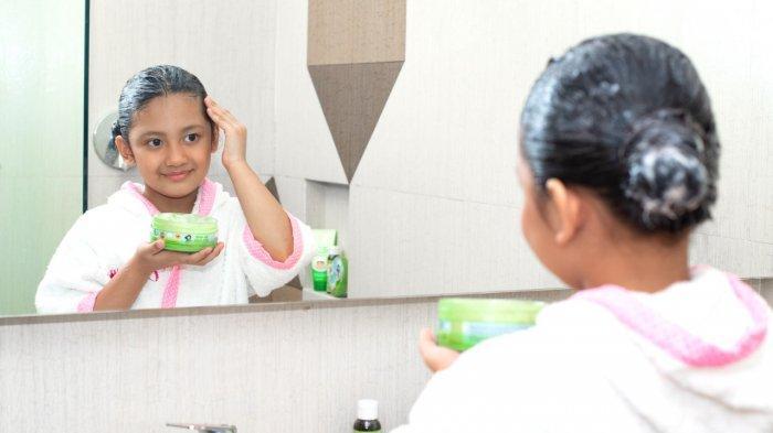 Hairmask untuk Mengatasi Masalah Rambut Pada Anak