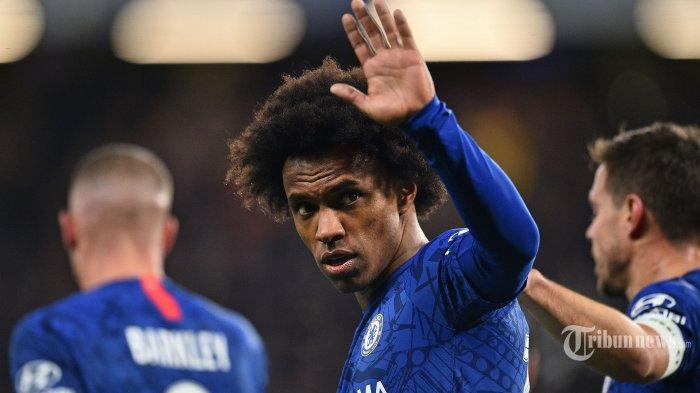 LIVE Streaming Leicester vs Arsenal - Kata Willian soal Transfer dari Chelsea: Menyakitkan