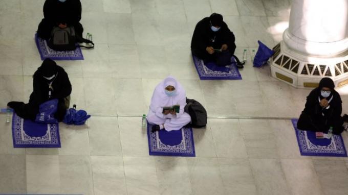 Pelaksanaan Ibadah Haji 2020, para jamaah wajib mengenakan masker dan menjaga jarak.