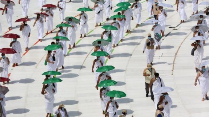 Pelaksanaan Haji 2020, para jamaah wajib untuk menaati protokol kesehatan agar terhindar dari virus corona.