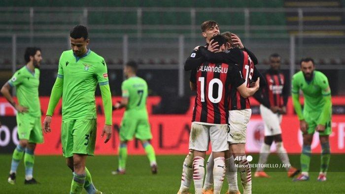 HASIL Liga Italia: Kalah dari AC Milan, Pelatih Lazio Tak Ikhlas, Simeone: Ini Kurang Adil