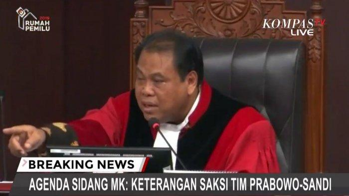 Hakim MK Arief Hidayat Memarahi Saksi Partai Kebangkitan Bangsa, Ini Sebabnya