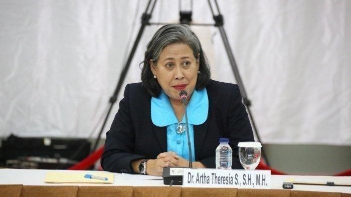 Ketika Calon Hakim Agung Artha Theresia Dicecar Soal Pelanggaran HAM Berat Oleh Hikmahanto Juwana