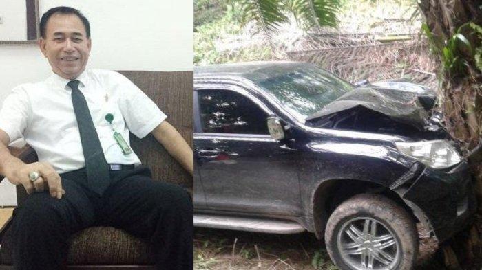 Hakim yang juga Humas PN Medan, Jamaluddin ditemukan tewas di mobil, Jumat (29/11/2019).