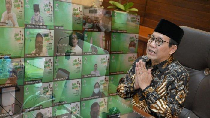 Halalbilhalal Kemendes PDTT, Ini Pesan Abdul Halim Iskandar