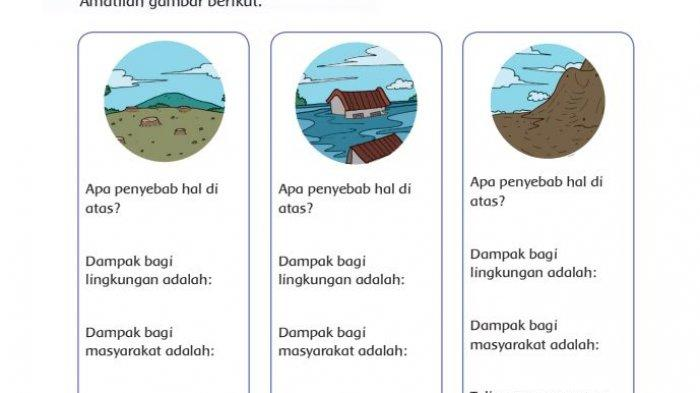 Kunci Jawaban Buku Tematik Tema 3 Kelas 4 Halaman 115 116 117 118 119, Kewajiban Terhadap Lingkungan