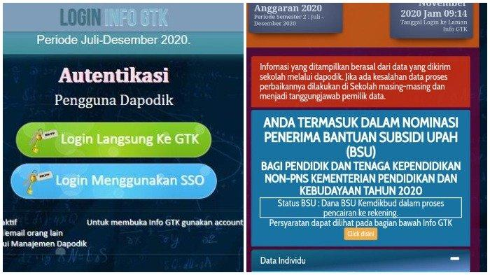 Klik info.gtk.kemdikbud.go.id, Cek Penerima BLT Guru Honorer dan Segera Cairkan, Siapkan Dokumen Ini